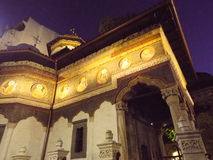stavropoleos church in night view Stock Photography