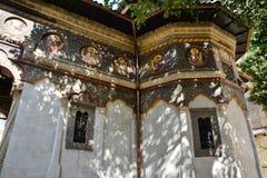 Stavropoleos-Kloster in Lipscani, alte Stadt von Bukarest Stockfoto