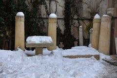 Stavropoleosklooster Manastirea Stavropoleos Royalty-vrije Stock Foto