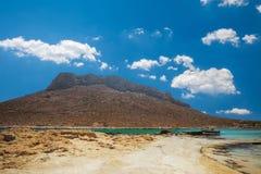 Stavros beach on Crete island, Greece. Royalty Free Stock Photos