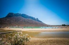 Stavros beach on Crete island, Greece. Royalty Free Stock Image