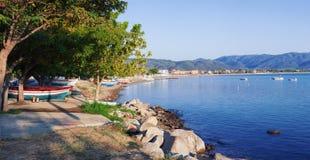 Stavros en Grecia Fotos de archivo libres de regalías