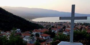 Stavros greece halkidiki. Agnandi stavros halkidiki greece Royalty Free Stock Images