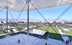 Stavros Niarchos foundation cultural center Greece Royalty Free Stock Image