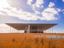 Stavros Niarchos Foundation Cultural Centre por Renzo Piano imagem de stock