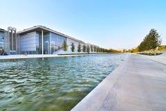 Stavros Niarchos-stichtings cultureel centrum Griekenland royalty-vrije stock afbeeldingen