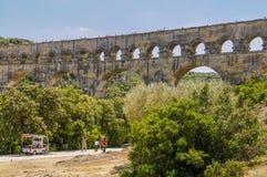 Staw Du Gard, Francja Fotografia Stock