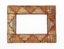Staw frame Stock Image