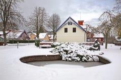 Staw w Nida baltic mierzeja brzegowa curonian denna Lithuania Obrazy Royalty Free