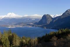 Stawamus Squamish kolumbiów brytyjska Kanada szef Fotografia Stock