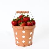 stawberries ведра Стоковая Фотография RF