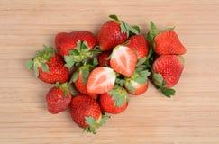 新stawberries 库存照片