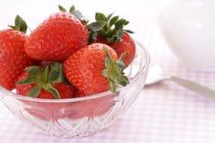 Stawberries frescos Imagen de archivo