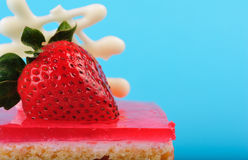 Stawberry cake Stock Photos