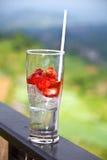 Stawberrydrank stock foto's