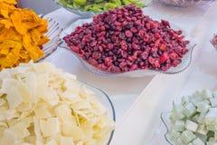 Stawia dalej rynek Indiańskie owocowe błyskotki II obrazy royalty free