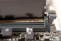Stawiająca pamięć szczelina zdjęcie stock
