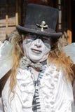 Stawiający czoło aktor w bourbon ulicie obrazy royalty free