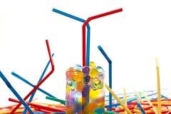 Staws y bals Imagen de archivo libre de regalías