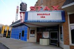 Stax enregistre le musée, Memphis, TN Image stock