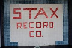 Stax enregistre le musée, Memphis, TN Photographie stock