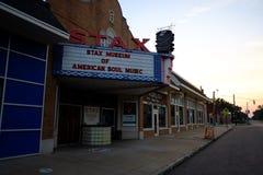 Stax enregistre le musée, Memphis, TN Images stock