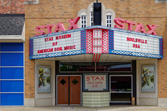 Stax recording studio. MEMPHIS, TENNESSEE, May 12, 2015 : The Stax Museum is a replica of the Stax recording studio. It not only celebrates the legacy of Stax Stock Photos