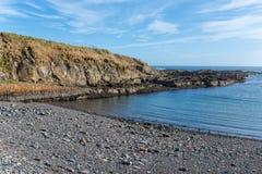 Staxigoe plaża Fotografia Stock
