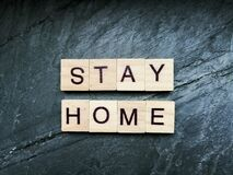 Free Stay At Home Stock Images - 176542354