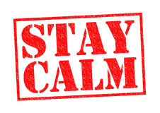 STAY CALM Royalty Free Stock Photos
