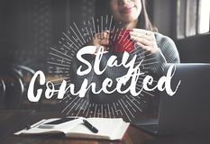 Free Stay Connected Friendship Internet Relationship Concept Royalty Free Stock Images - 73628549