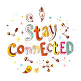 Stay connected Royalty Free Stock Photography