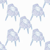Stay Fancy illustrations, seamless  patterns Royalty Free Stock Photography