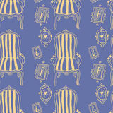 Stay Fancy illustrations, seamless  patterns Stock Image