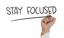 Stay Focused Royalty Free Stock Photo