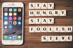 Stay hungry stay foolish Royalty Free Stock Photo