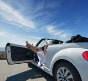 Stay In The Car Royalty Free Stock Image