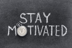 Stay motivated Royalty Free Stock Photo