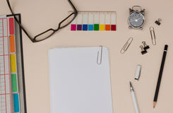 Stay organized: Filing personal files Royalty Free Stock Image