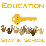 Stay in school Royalty Free Stock Image