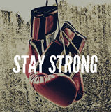 Stay strong d Stock Photo
