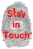 Stay in Touch Royalty Free Stock Photography