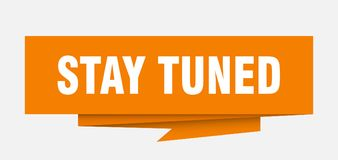 stay tuned Royalty Free Illustration