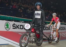 Stayer race at Sixday-Nights Zuerich 2011 Stock Images