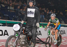 Stayer race at Sixday-Nights Zuerich 2011 Stock Photography
