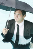 Staying Dry Royalty Free Stock Photo