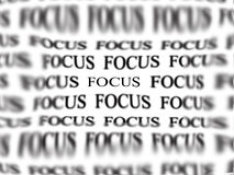 Staying in Focus Stock Photography