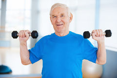 Staying healthy. Stock Photography