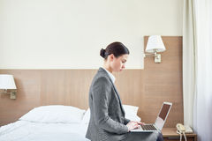 Staying in hotel Stock Photography