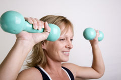 Staying in shape Royalty Free Stock Photo